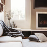 How does a propane gas fireplace work?
