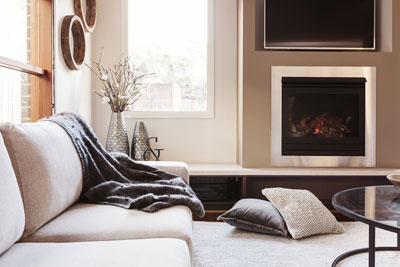 how does a gas fireplace work north carolina